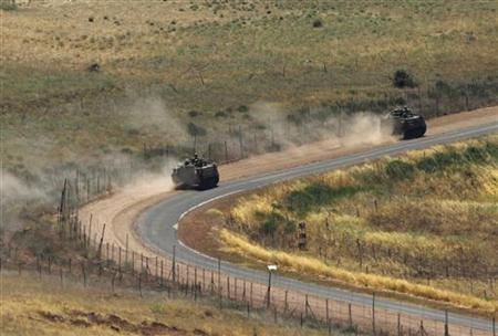Israel army in snap exercise to simulate war scenario