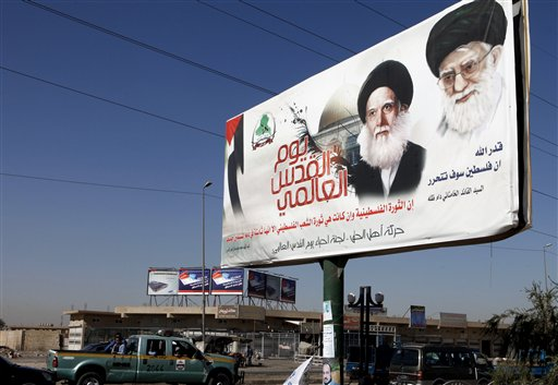 Iran Ayatollah is Poster Boy for Influence in Iraq