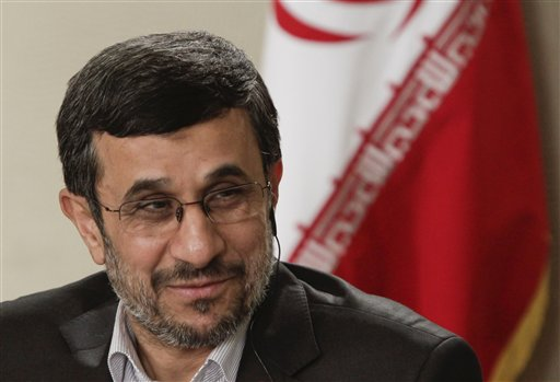 AP Interview: Ahmadinejad Pushes New World Order