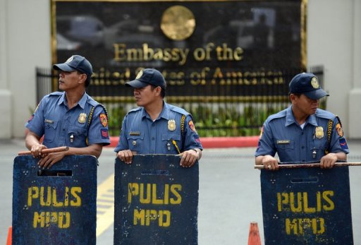 US Embassy Issues Security Alert for Philippine Capital
