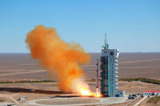 China Rocket Puts Venezuela Satellite into Orbit