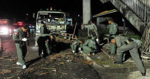 Six Dead, Dozens Injured in Thai South Attacks