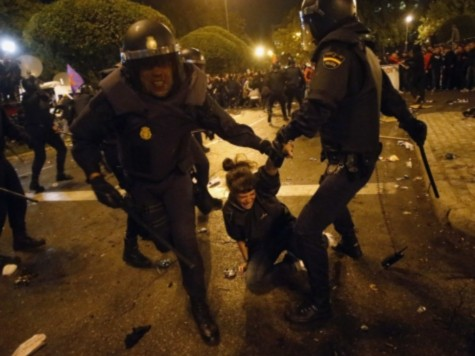 World View: Riot Police Cause Bloodshed in Madrid, Spain