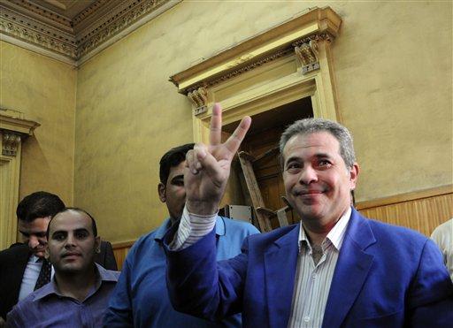 TV Critic of Egypt's Islamist President Freed