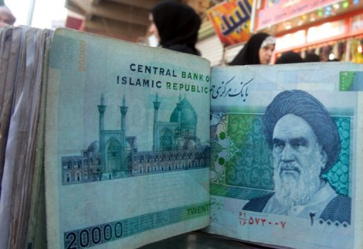 Iran Currency Crashes 9% to Record Low