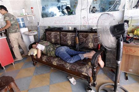 Fighting Spreads in Aleppo Old City, Syrian Gem