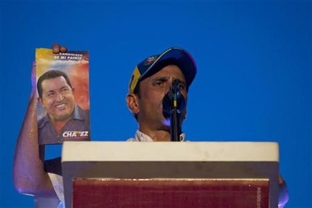 Venezuela's Chavez Fights Young Rival in Re-Election Bid