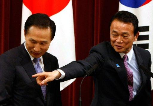 Japan Ex-PM 'to Meet S.Korean Leader to 'Mend Ties'