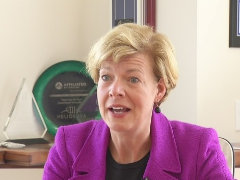 WI Senate: Dem Baldwin Wanted to Block Body Armor Funding for Troops