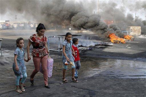 Lebanon PM Links Car Bomb to Syria Crisis
