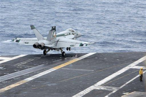 US Aircraft Carrier Cruises Disputed Asian Seas