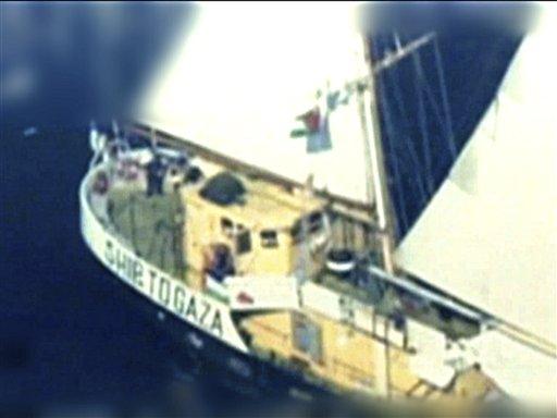 Israeli Naval Vessels Take Control of Gaza Boat