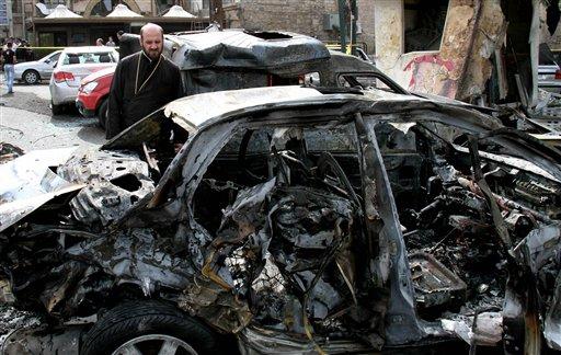 Blast in Syrian Capital Kills at Least 13