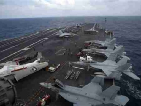 World View: U.S. Aircraft Carrier and Vietnam Show Force in South China Sea