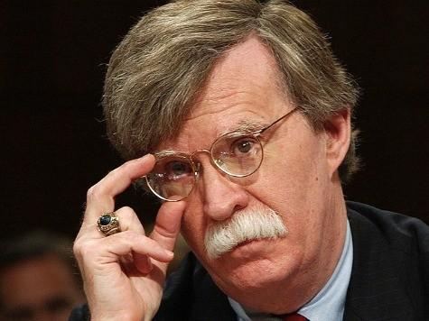 John Bolton: Obama Dropped Ball on U.N. Palestine Vote