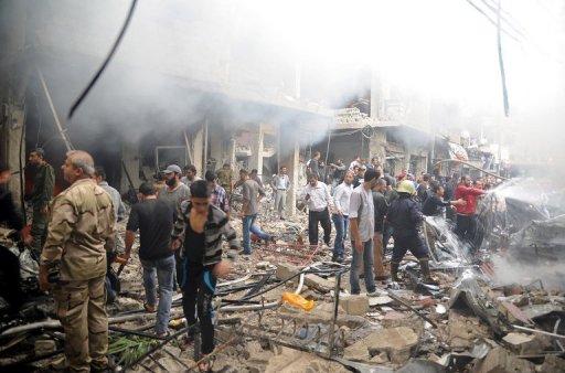 Bombs, Air Strikes Hit Syria: 250 Dead