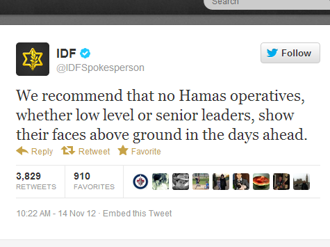 Israel/Hamas War Rages on Twitter