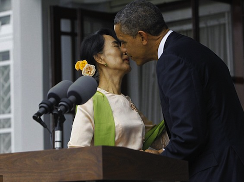 Obama in Burma: 'I Wish I Could… Impose My Will on Congress'