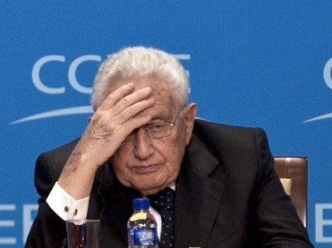 Henry Kissinger Calls for New World Order
