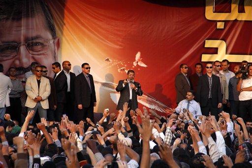 Egypt's Top Judges Slam President's Power Grab