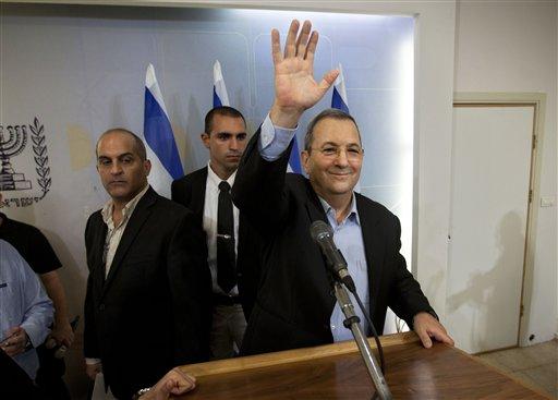 In Shocker, Israel's Barak Quits Politics