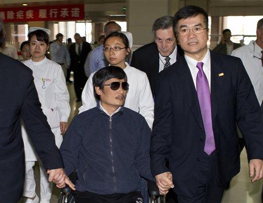 China Sentences Blind Activist's Nephew to Three Years in Jail
