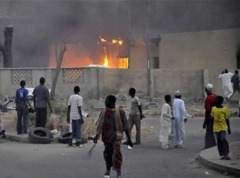 Boko Haram Allegedly Destroys 50 or 52 Catholic Churches in Maiduguri