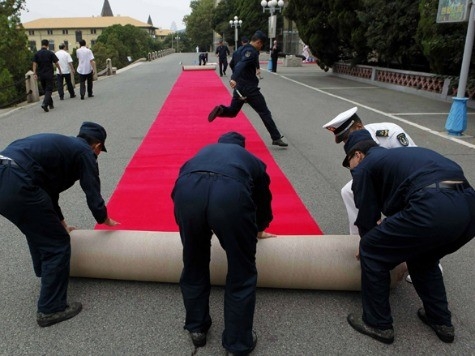 Chinese Leaders to Forgo Red Carpets