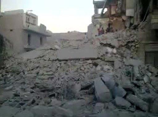 Syrian Warplanes 'Pound Damascus Suburbs'