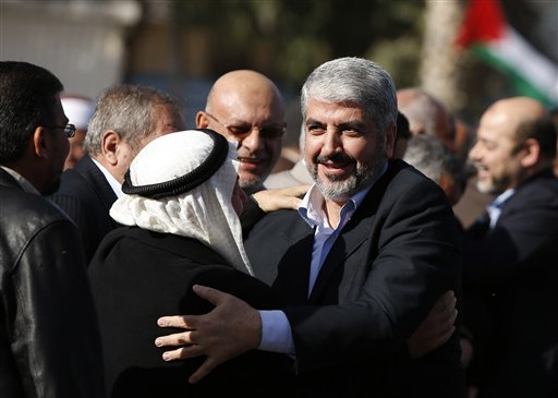 Crowds Greet Hamas Chief on First-Ever Gaza Visit