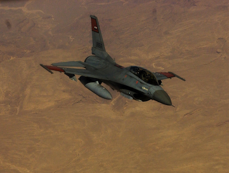 US Sending 20 F-16s to Egypt