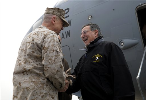 Panetta in Afghanistan to Meet with Karzai