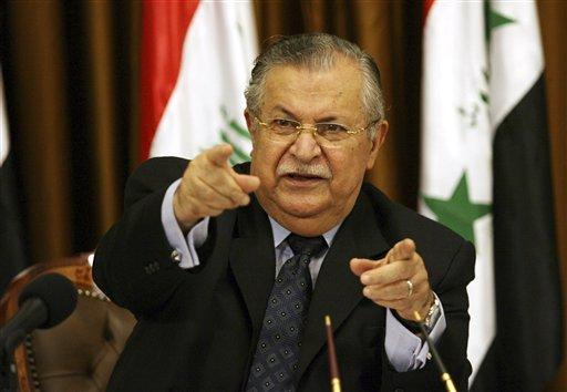 Iraq Official Says President Talabani Had Stroke