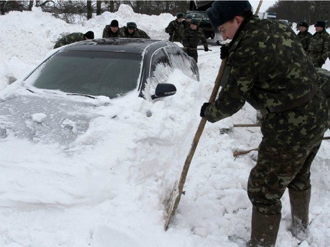 Russians Freeze to Death in Worst Winter Since Stalin's Great Purge
