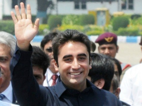 Martyr Bhutto's Only Son to Enter Pakistani Politics