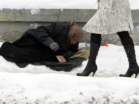 Cold Kills Over One Hundred in Ukraine in December