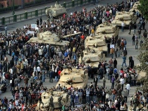 Report: U.S. Supplying Tanks, Fighter Jets to Islamist-Controlled Egypt