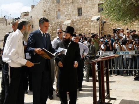 Israeli Jews Support Romney by Wide Margin