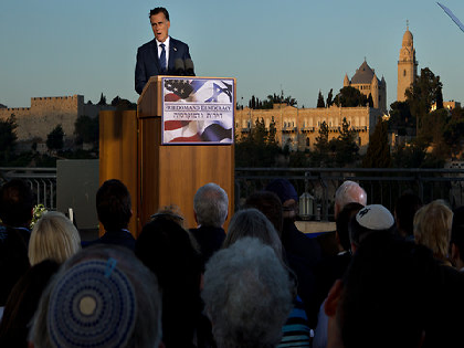 Romney Comments at Fundraiser Outrage Palestinians