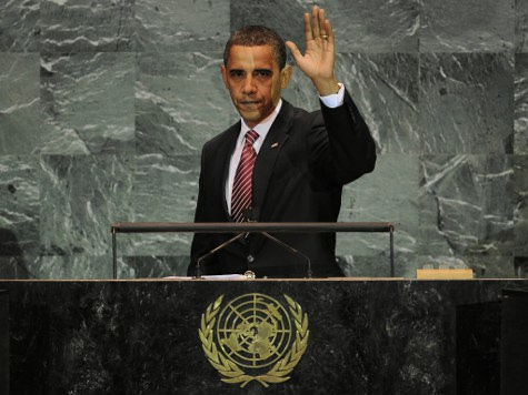 Report: Obama Could Sign Anti-Gun 'Arms Trade Treaty' with UN by August