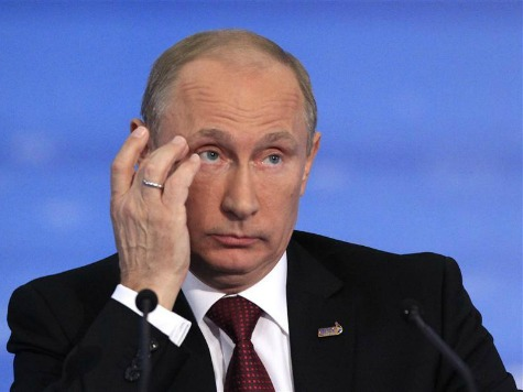 Russian Blogs Suggest Vladimir Putin May Be in Trouble