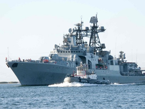 World View: Russian Fleet Poised to Aid Assad?