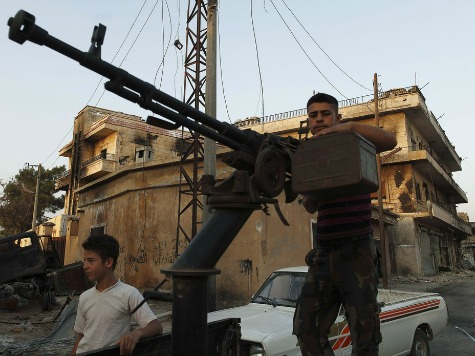 Obama Signs Secret Order to Aid Syria Rebels