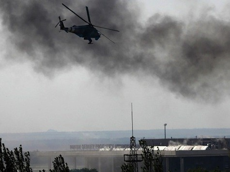 Fear Grips Donetsk Streets After Bloody Airport Battle