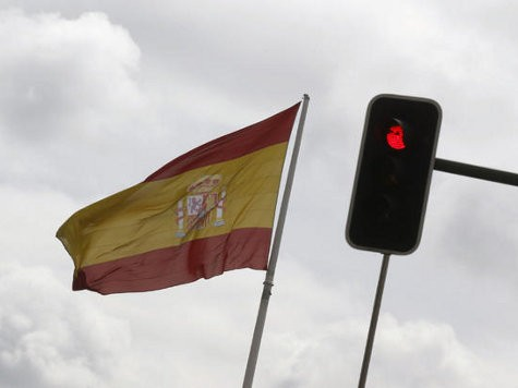 S&P Cuts Spain's Rating to Just Above Junk
