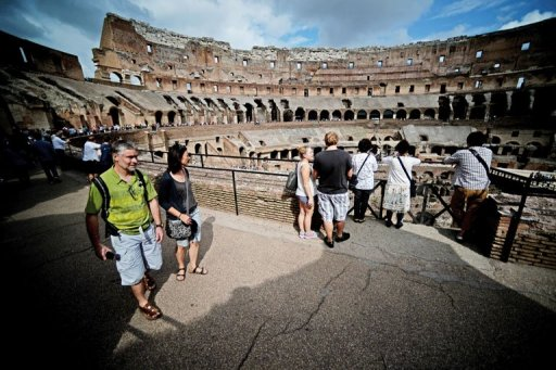 Racy Frescoes Found in Rome's Colosseum