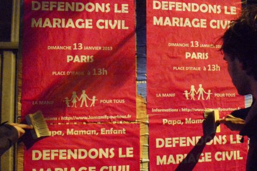 France Braces for Massive Same-Sex Marriage Protest