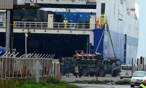 German, Dutch Patriot Missiles Arrive in Turkey: NATO