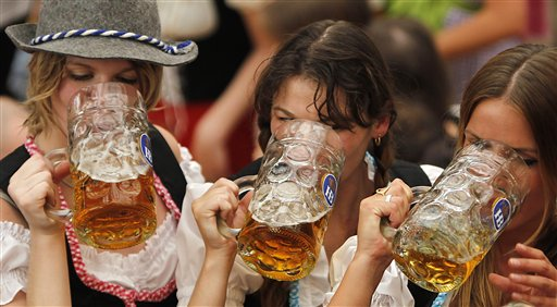 German Beer Drinking Hits Post-Reunification Low