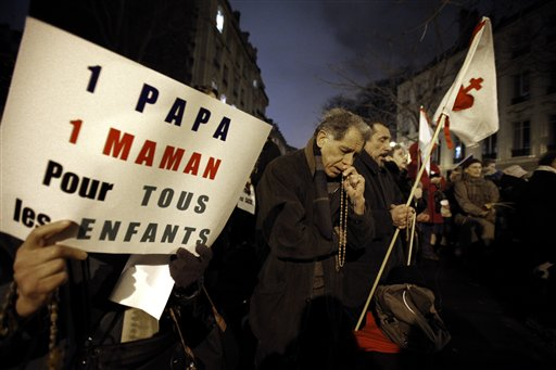 French Gay Marriage Plans Stir Parenthood Debate